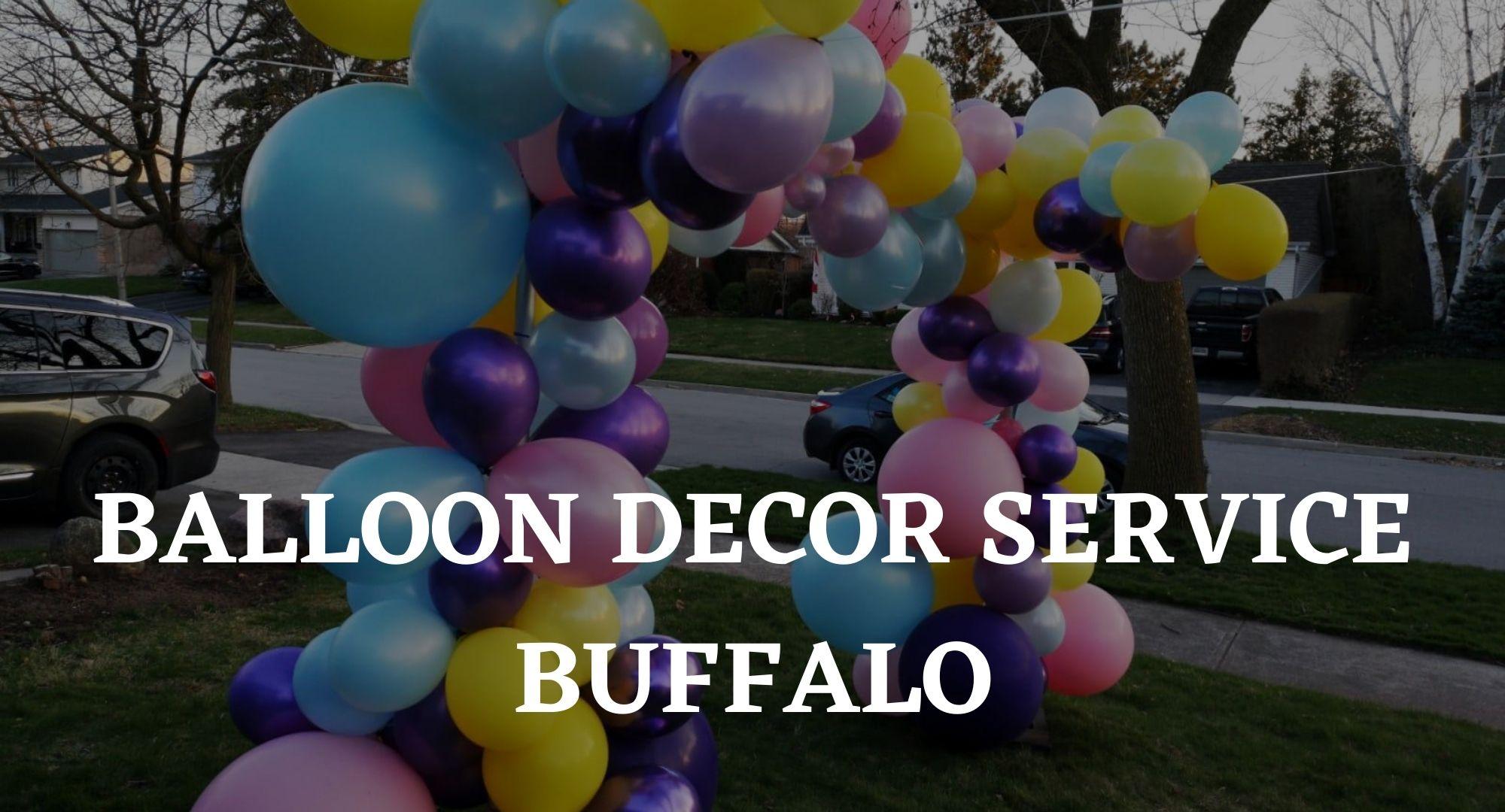 balloon decor services ajax