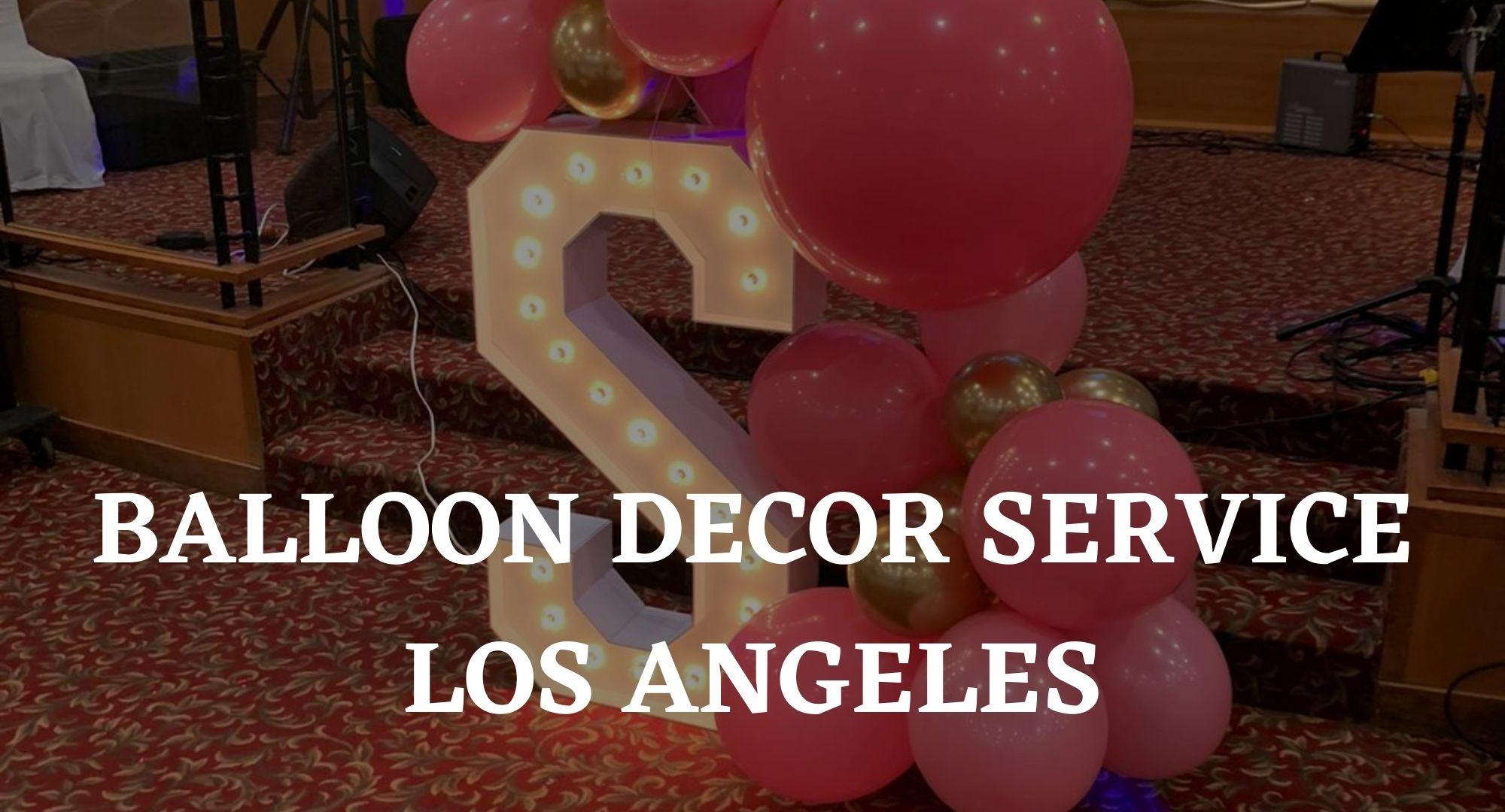 Balloon Decor Services Niagara Falls