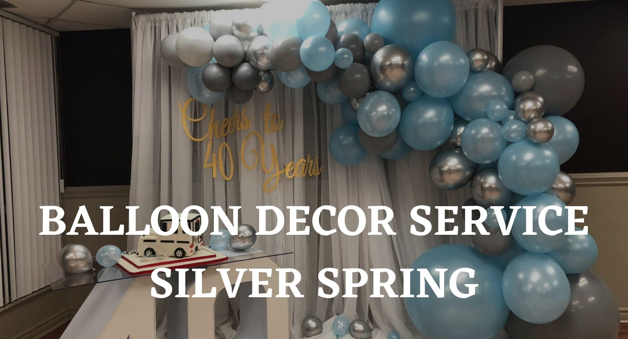 Balloon Decor Rentals Mississauga