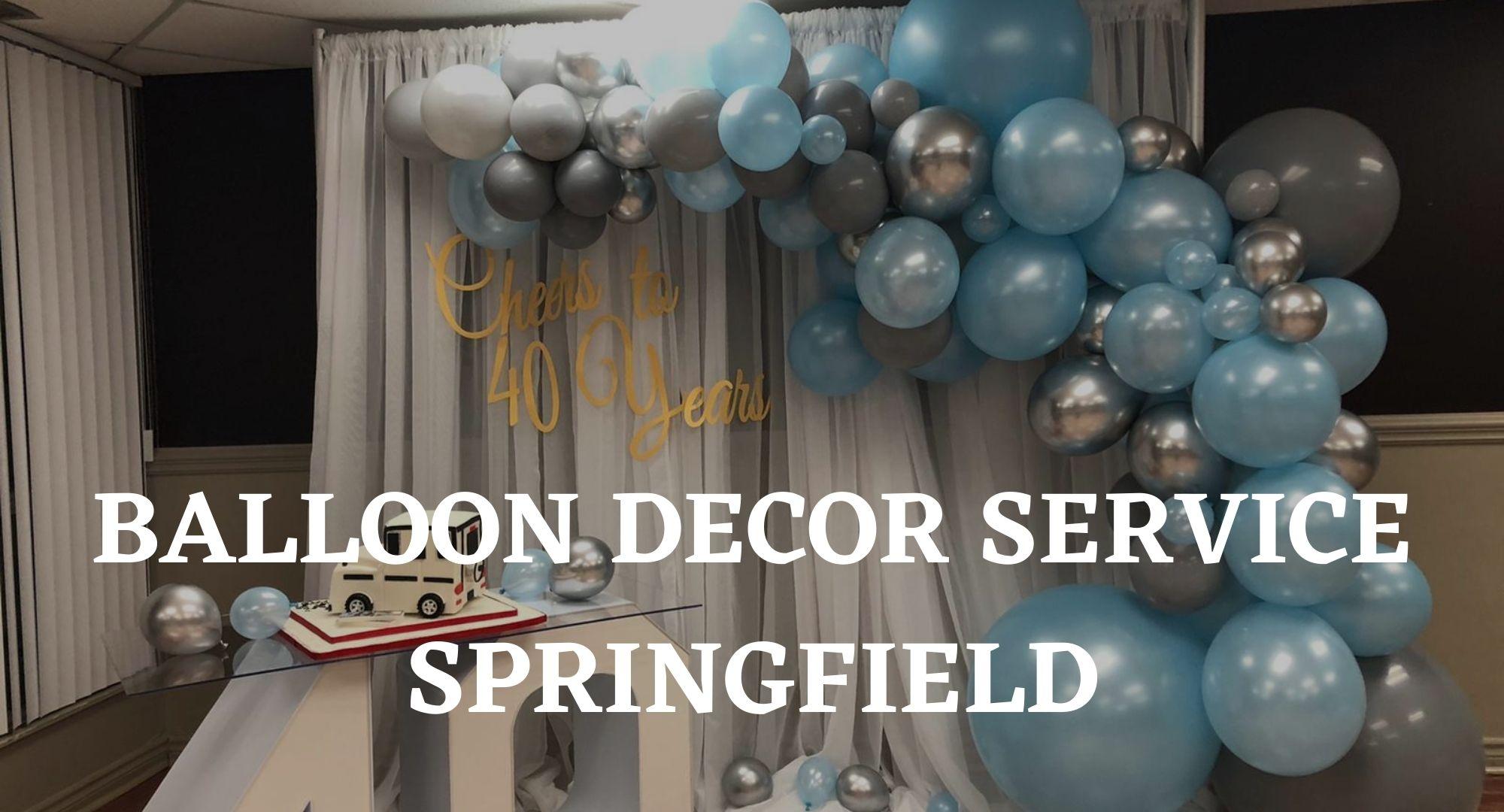 Balloon Decor Rentals Mississauga
