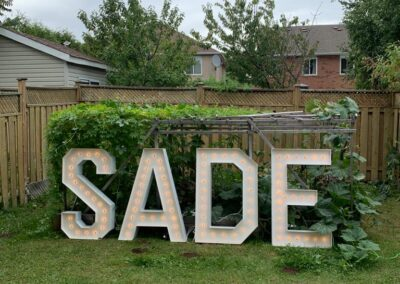 Marquee Letters Rental Austin