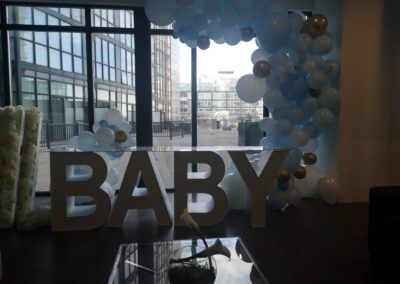 Baby Marquee Letter Rental Columbia
