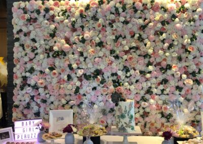 Flower Wall Rental Jacksonville