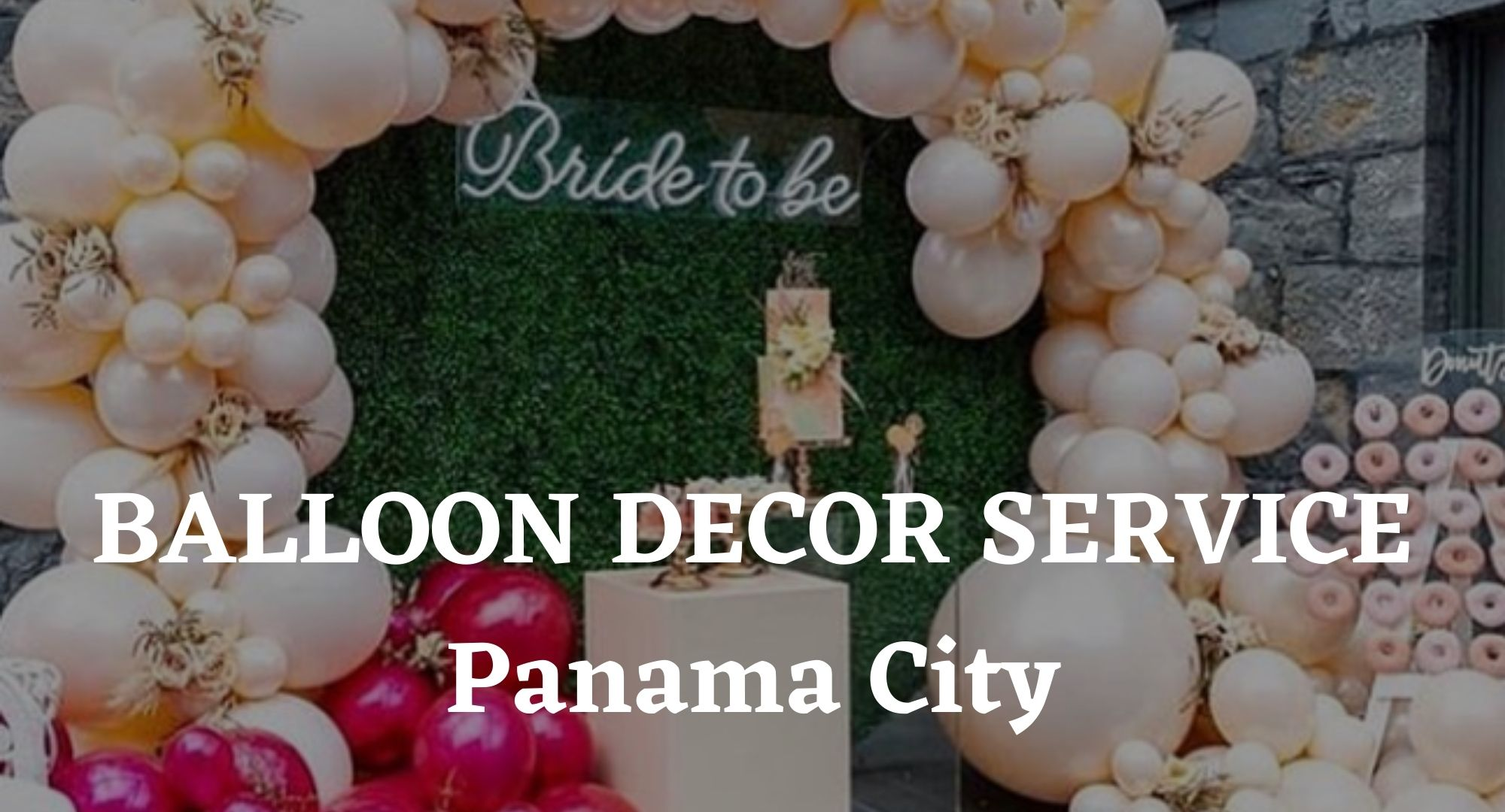 Balloon Decor Services Hamilton