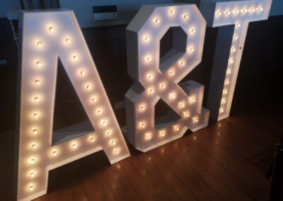 Marquee Letters Rental Reno
