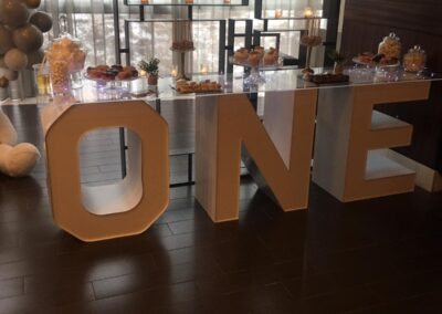 Marquee Letter Rental