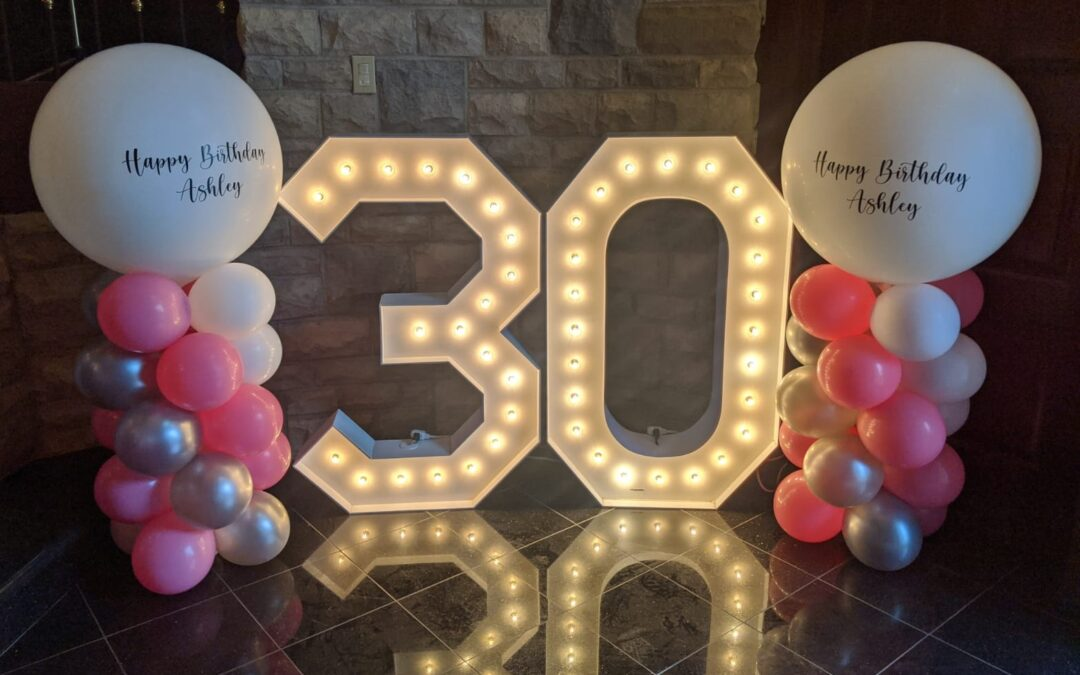 Tips for Decorating With Marquee Letters in Boca Raton