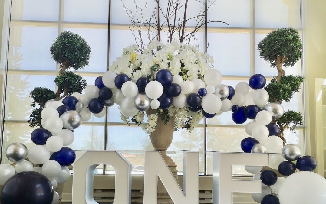 Balloon Arch Decorations in Clearwater