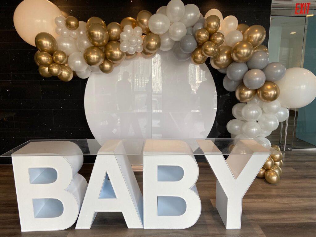Baby shower rentals in Orlando